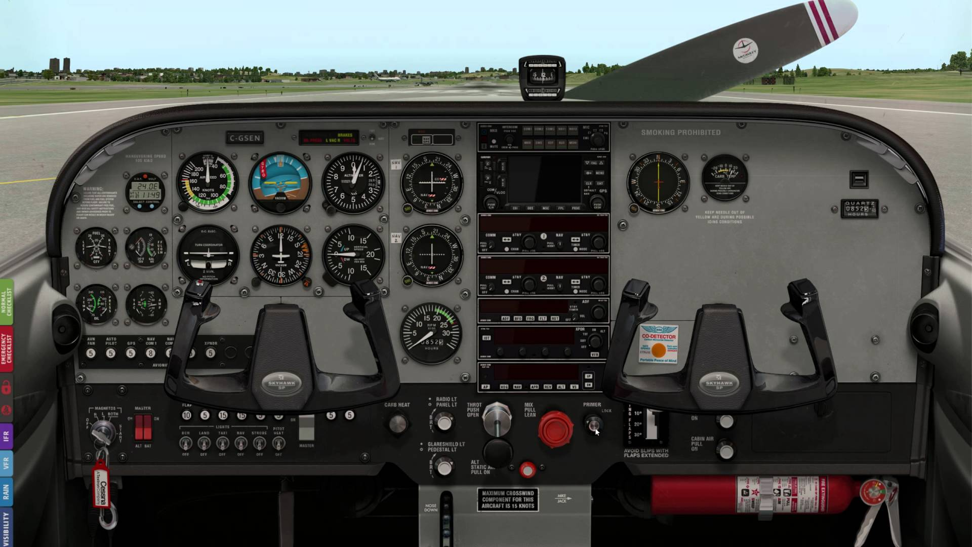 5 Light Aircraft Cockpit Images