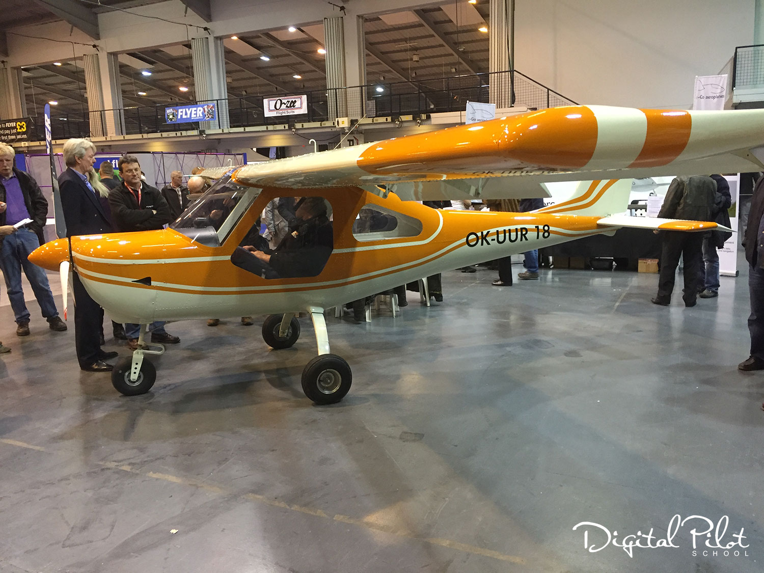 Check out the Tech Pro Merlin SSDR microlight aircraft