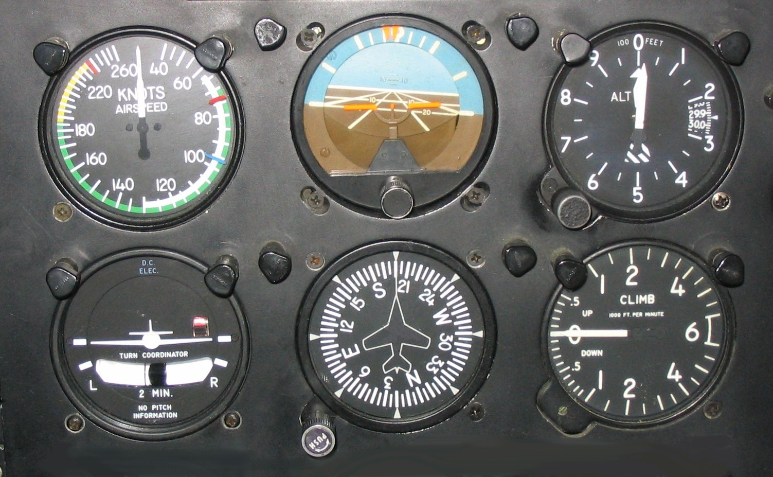 Airplane Instrument Panel : Aircraft cockpit instruments explained flying technique