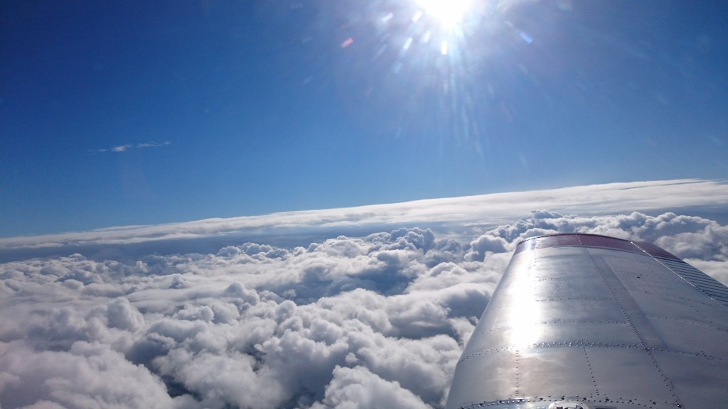 pa28 above cloud