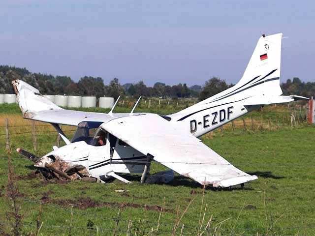 Light Aircraft Crash