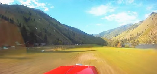 back country flying